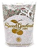 SweetGourmet Jingle Mix - Christmas Sprinkles & Nonpareils (2Lb)