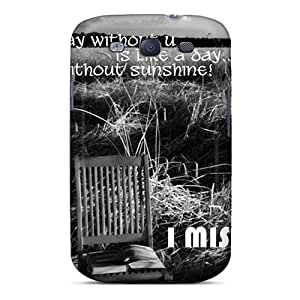 Phonedecor Design High Quality Miss U Cover Case With Excellent Style For Galaxy S3