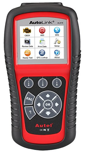 Autel AL619 AutoLink ABS/Air Bag + OBDII Scan Tool (Obd Scan Tool compare prices)