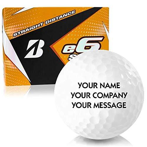 Bridgestone e6 Soft Personalized Golf Balls ()