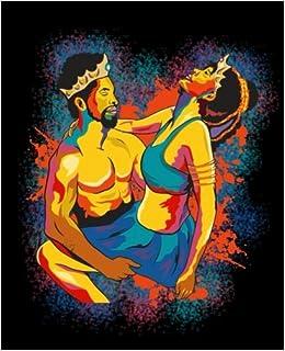 Black King And Queen Black Girl Magic African King Queen Watercolor