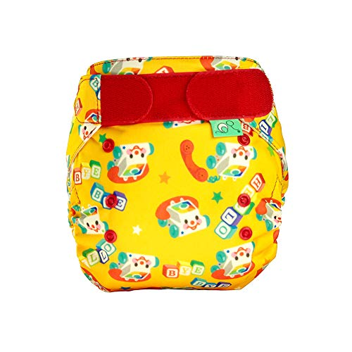 TotsBots Easyfit Star Chatterbots Reusable Washable Nappy from 8lbs to 35lbs (Best Eco Nappies Uk)