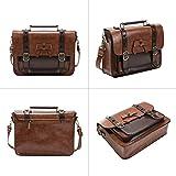 ECOSUSI Vintage Crossbody Messenger Bag Satchel