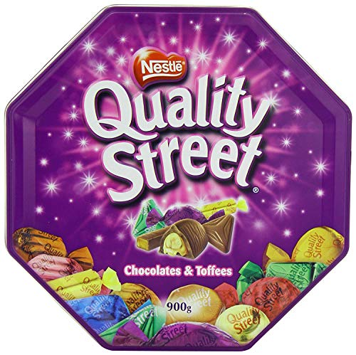 Nestle Quality Street Tin Extra Large, 900 gram Can Pack - 2