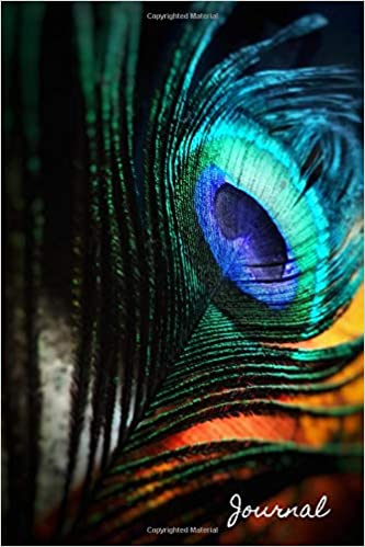 Journal: Peacock Feather Notebook, Journal, Diary (110 Pages, Unlined, 6 X 9) Epub Descargar
