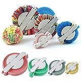1set/lot New 4 Sizes Pompom Maker for Fluff Ball Weaver Needle Craft DIY ...