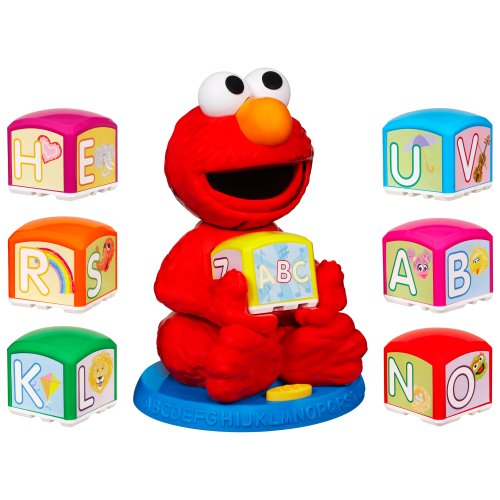 Sesame Street Elmo's Find & Learn Alphabet Blocks by Sesame Street