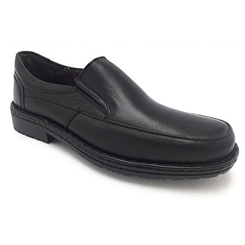Fluchos - Fluchos mocasín Negro 7262-57204: Amazon.es: Zapatos y complementos