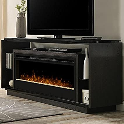 Amazon Com Dimplex David Glass Ember Bed Electric Fireplace Tv