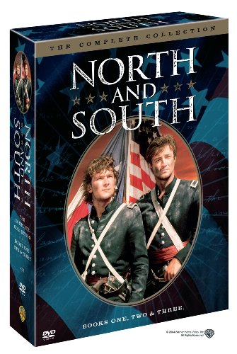 DVD : North and South: The Complete Collection (Books One, Two & Three) (Collector's Edition, Gift Set, Repackaged, Standard Screen, 5 Disc)