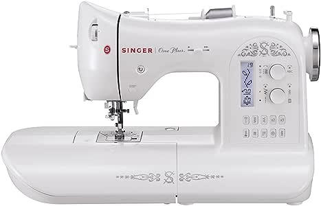 Singer 4996856111150 - Máquina de Coser One Plus: Amazon.es: Hogar