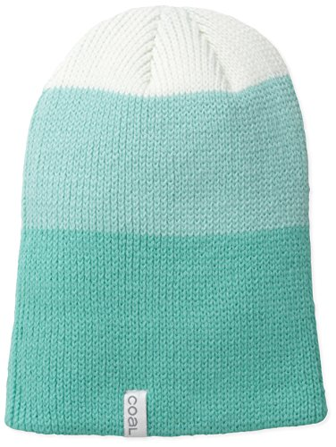 (Coal Men's The Frena Solid Fine Knit Beanie Hat, Mint, One)