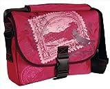 Laurex Medium Size Messenger Bag - Cherry Stamp. Cherry. Medium.