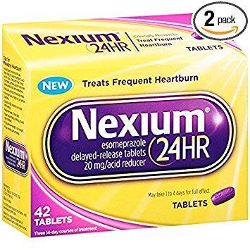 Nexium 24HR Tablet, 42 ea - 2pc by Nexium