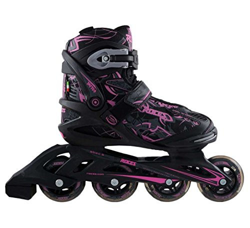 Roces Women's Tattoo Inline Skates , Black/Pink. 400774-00002-10 by Roces