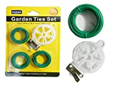 GARDEN TIES 4PC/SET 3X15MM ROL , Case of 96