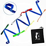 Koltose by Mash Toddler Walking Rope, Child Daycare Safety Rope for up to 12 Kids and 2 Adults (14 Handles) for Childcare, Preschool, Kindergarten, Nursery, and Schools