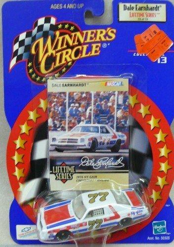 NASCAR - Winner's Circle - Dale Earnhardt Lifetime Series - 13 of 13 - No. 77 - 1976 Hy-Gain Chevrolet Malibu - 1:64 Die Cast Replica Car and Collector Card (64 Diecast Replica Car)