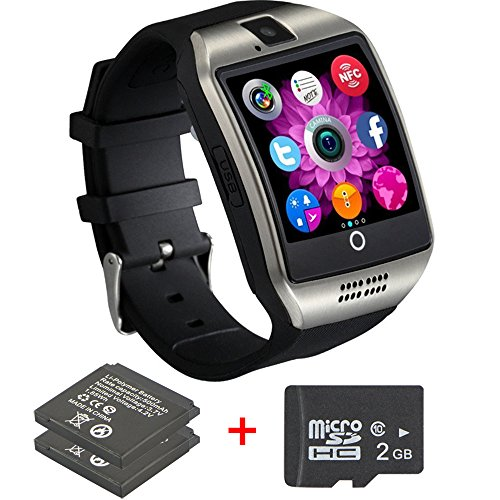 Bluetooth Smart Watch With Camera ,Unlocked Bluetooth Watch Cell Phone with Sim Card Slot,Smart Wrist Watch,Smartwatch Phone for Android Samsung IOS Iphone 7 Plus 6S Men Women Kids Boys