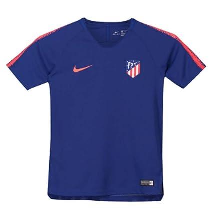 0ac1de9412f Amazon.com : Nike 2018-2019 Atletico Madrid Training Football Soccer  T-Shirt Jersey (Royal Blue) - Kids : Sports & Outdoors