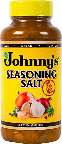 Johnny's Seasoning Salt, No Msg, 42 Ounce (Johnnys Seasoning)