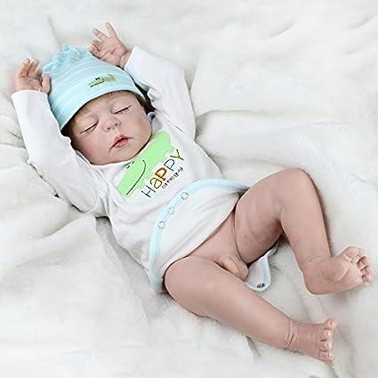 f41079a48b7 Amazon.com  NPK Full Body Silicone Baby Dolls Newborn Reborn Boy Doll  Anatomically Correct