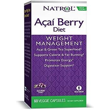 Amazon.com: Natrol Acai Berry Diet, 60 Capsules: Natrol