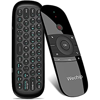 Wechip 2.4G Smart TV Wireless Keyboard Fly Mouse W1 Multifunctional Remote Control for Android TV Box/PC/Smart TV/Projector/HTPC/All-in-one PC/TV