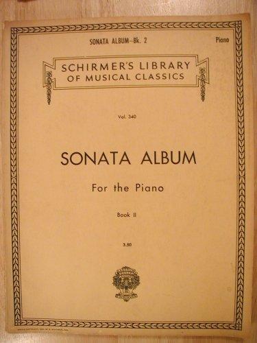 Favorite Sonatas - Sonata Album For the Piano, Book 2