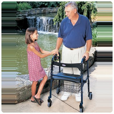 Invacare Rollator Basket Black by Rolyn Prest