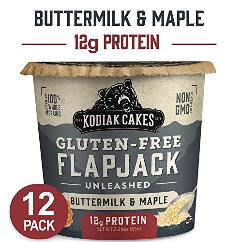 Kodiak Cakes Pancake On The Go Breakfast Snack, Gluten Free Buttermilk & Maple, 2.16 Oz (Pack Of 12)...
