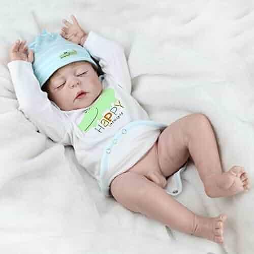 7548088fc77b NPK Full Body Silicone Baby Dolls Newborn Reborn Boy Doll Anatomically  Correct