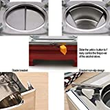 DAYIYANG Foursquare Shape Stainless Steel