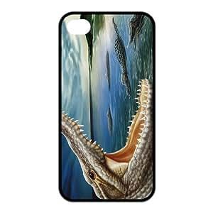 Case for iPhone 4s,Cover for iPhone 4s,Case for iPhone 4,Hard Case for iPhone 4s,Crocodile,Alligator,Cayman Design TPU Hard Case for Apple iPhone 4 4S