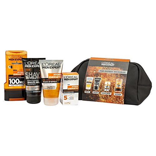 L'Oreal Men Expert The Expert Washbag 4 Piece Gift Set For Him L' Oreal 5011408090888