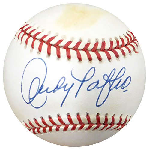 Andy Pafko Autographed Official NL Baseball Brooklyn Dodgers Beckett BAS #C24184 (Dodgers Baseball Autographed Brooklyn)