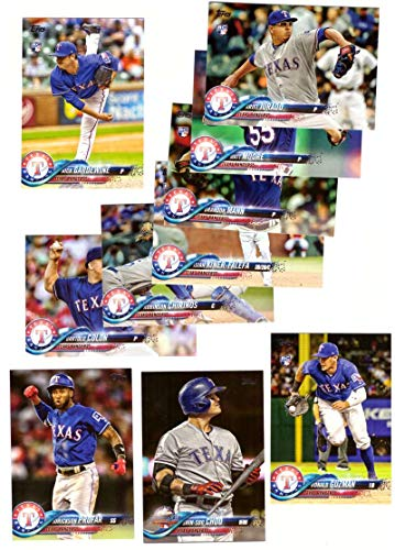 Texas Rangers Team Set - 2018 Topps Update - TEXAS RANGERS Team set