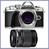Olympus OM-D E-M10 Mark III (Mark 3) Mirrorless Digital Camera [Silver] Body (V207070SU000) + Olympus M.Zuiko ED 14-150mm f/4-5.6 II Lens
