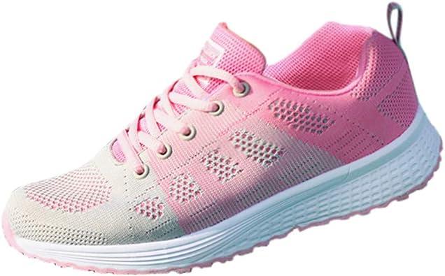 LEvifun Zapatillas Deportivas de Mujer - Zapatos Sneakers ...