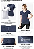 TSLA Women's Short Sleeve Workout Shirts, Dry Fit