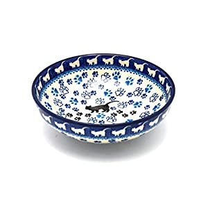Polish Pottery Bowl – Contemporary Salad – Boo Boo Kitty