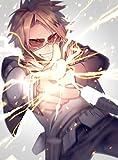 XXW Artwork My Hero Academia Kaminari Denki Poster Discharging/Lightning/My Hero Academia Season 3 Prints Wall Decor Wallpaper