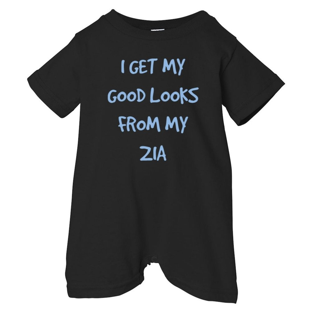 So Relative Unisex Baby I Get My Good Looks From My Zia T-Shirt Romper