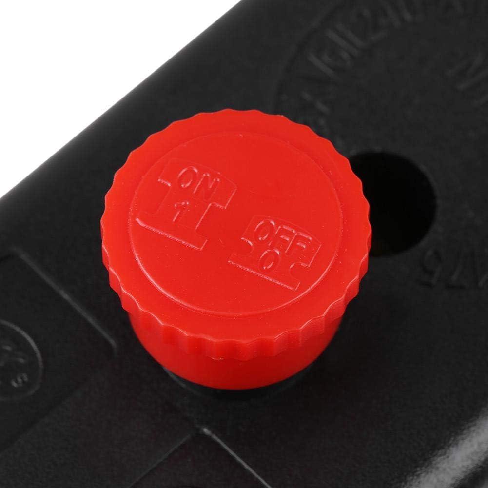 120PSI Commande de commutateur de pression de compresseur dair /à quatre ports 240V 16A Nitrip Heavy Duty 90PSI