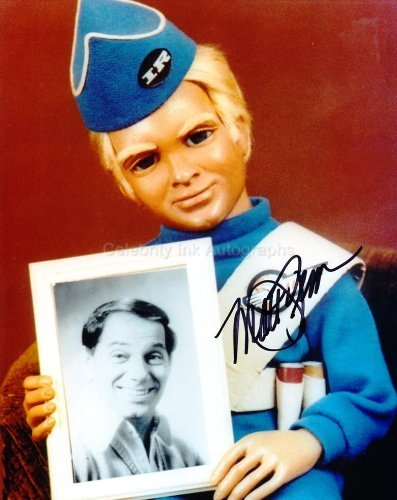 MATT ZIMMERMAN as The Voice Of AlanTracy - Thunderbirds Genuine Autograph from Celebrity Ink