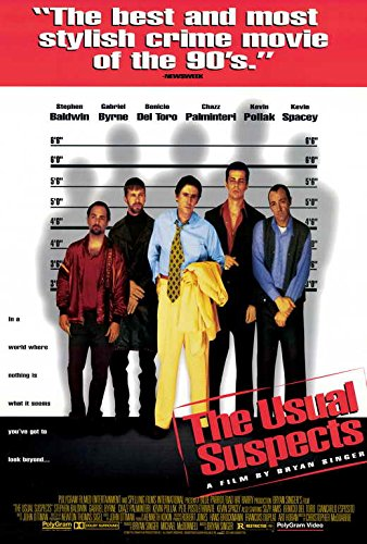 The Usual Suspects 27x40 Movie Poster