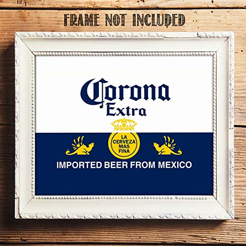 46 x 60 Multi Color Bottle Label Micro Raschel Throw Blanket Corona