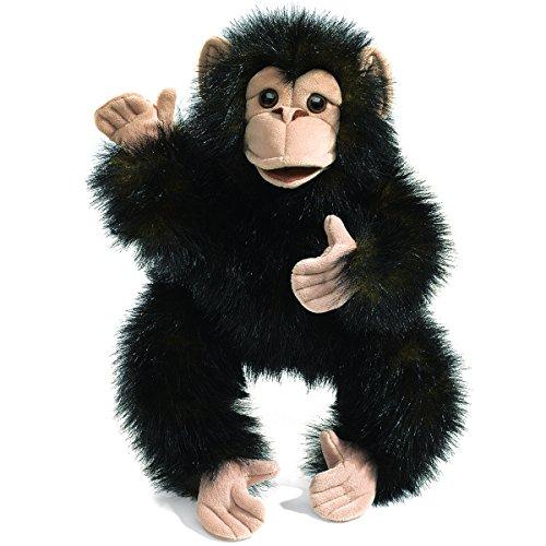 Folkmanis Baby Chimpanzee Hand Puppet ()