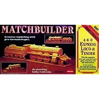 Matchbuilder 4-6-0 Express Loco and Tender Matchstick Modelling Kit