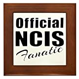 CafePress - Official NCIS Fanatic - Framed Tile, Decorative Tile Wall Hanging